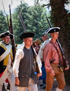 Musketeers at the Fourth of July Event
