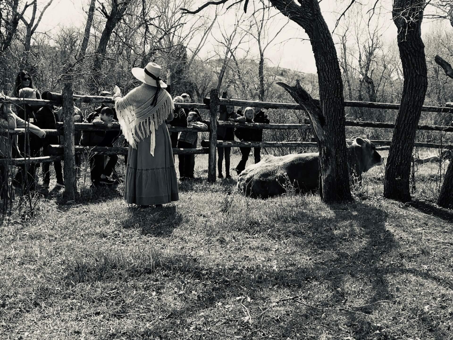 Spring Colorado Living History School Program